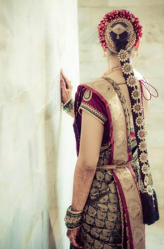 South Indian Bridal Hairstyles 05 Indian Makeup And Beauty Blog