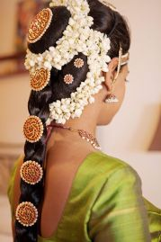South Indian Bridal Hairstyles 06