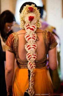South Indian Bridal Hairstyles 12