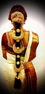 South Indian Bridal Hairstyles 14