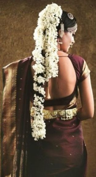 South Indian Bridal Hairstyles 15