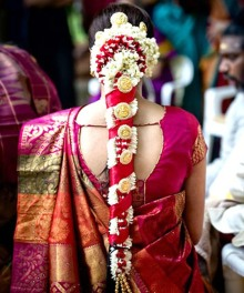 South Indian Bridal Hairstyles 17