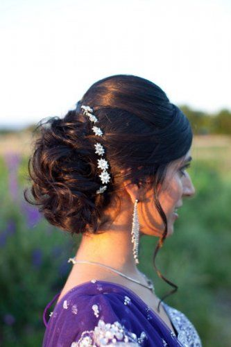 Wedding hairstyles for Indian wedding 08