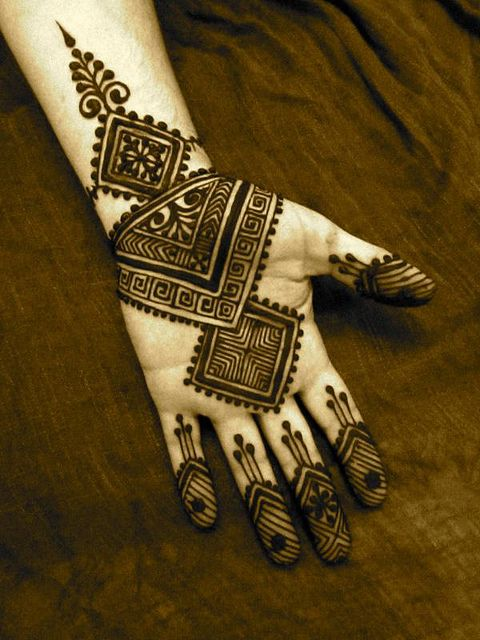 Arabic mehndi design 04