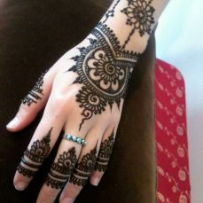 Arabic mehndi design 05