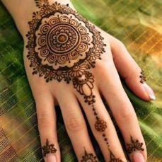 Arabic mehndi design 07