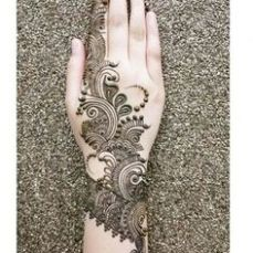 Arabic mehndi design 11