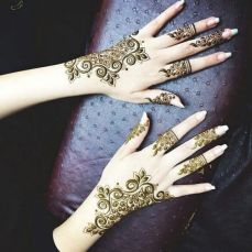 Arabic mehndi design 13