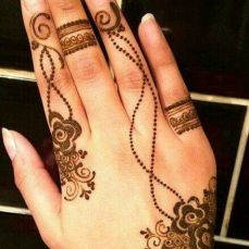 Arabic mehndi design 14