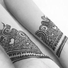 Arabic mehndi design 15