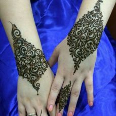 Arabic mehndi design 16