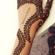 Arabic mehndi design 17