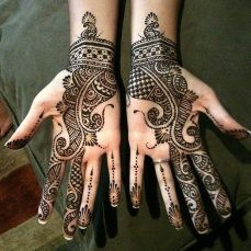 Arabic mehndi design 19