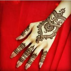 Arabic mehndi design 21