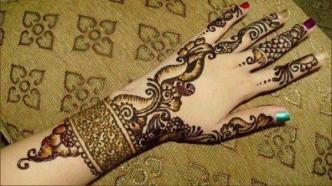 Arabic mehndi designs 18