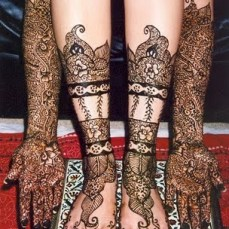 Arabic mehndi designs 23
