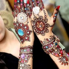 Arabic mehndi designs 27