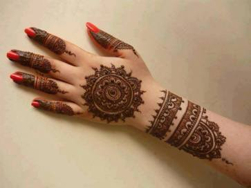 DIY Arabic mehndi designs 01