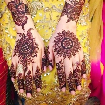 DIY Arabic mehndi designs 04