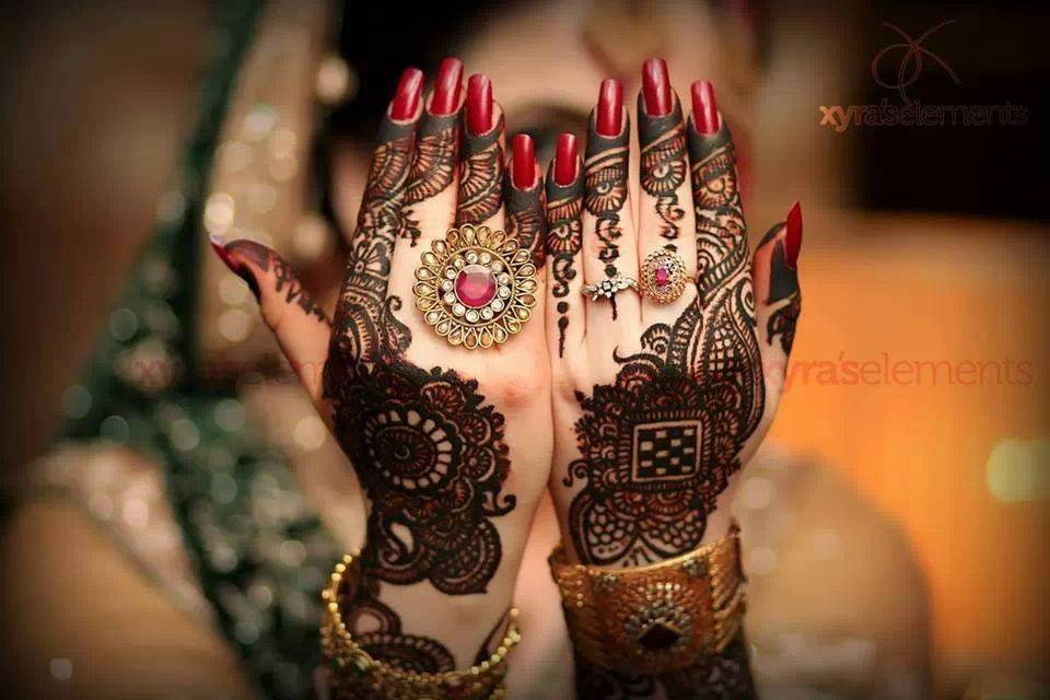 DIY Arabic mehndi designs 10