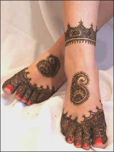 DIY Arabic mehndi designs 13