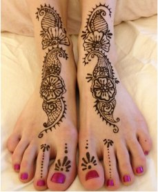 DIY Arabic mehndi designs 014
