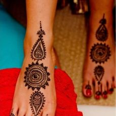 DIY Arabic mehndi designs 15