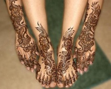DIY Arabic mehndi designs 16
