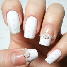 French manicure nail art designs 06