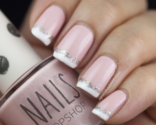 Nail art french manicure designs fancy french manicure designs french manicure nail art designs 12 prinsesfo Images