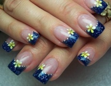 French manicure nail art designs 15