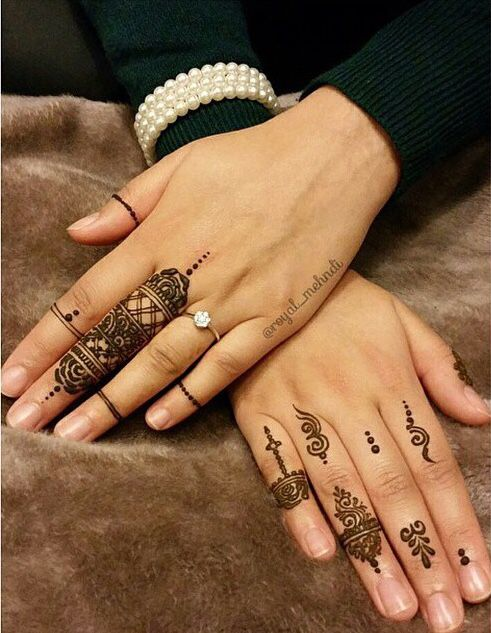 33 Gorgeous Images Of Simple Mehndi Designs For Hands And Feet