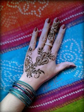 Images of simple mehndi designs for hands 02