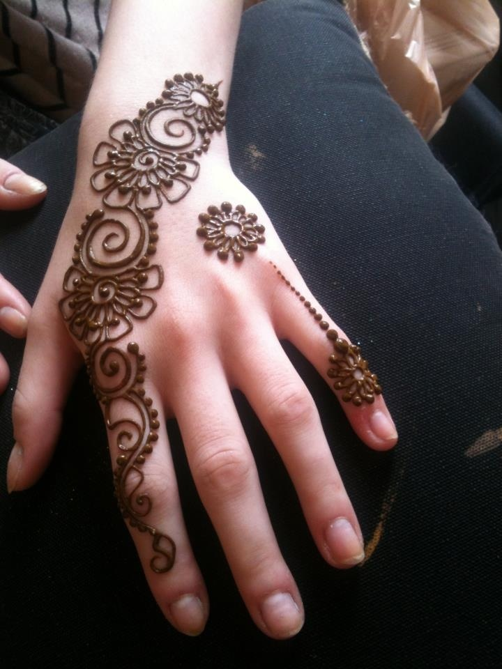 Simple Quick Mehndi Designs : Images of simple mehndi designs for hands indian
