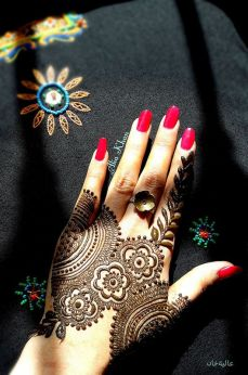 Images of simple mehndi designs for hands 06