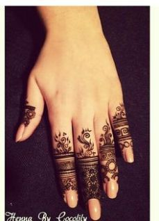 Images of simple mehndi designs for hands 07