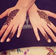 Images of simple mehndi designs for hands 08