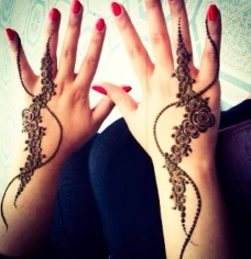 Images of simple mehndi designs for hands 16