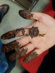 Images of simple mehndi designs for hands 19