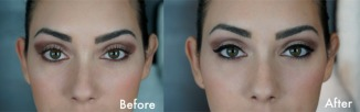 Makeup from drab to fab in minutes 03