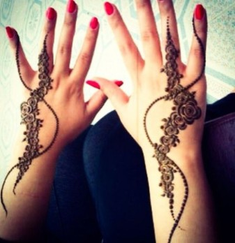 Mehndi Designs Inspired by Indian summer 01