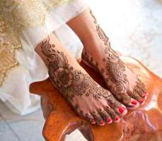 Mehndi Designs Inspired by Indian summer 06
