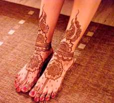 Mehndi Designs Inspired by Indian summer 07