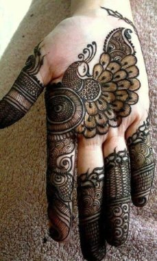 Mehndi Designs Inspired by Indian summer 12