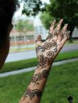 Arabic mehandi designs 15