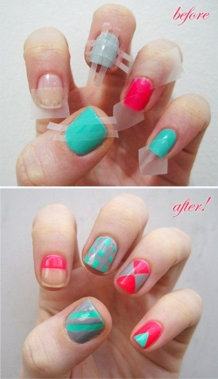 How To Do Cute Nail Art Designs At Home Indian Makeup And Beauty