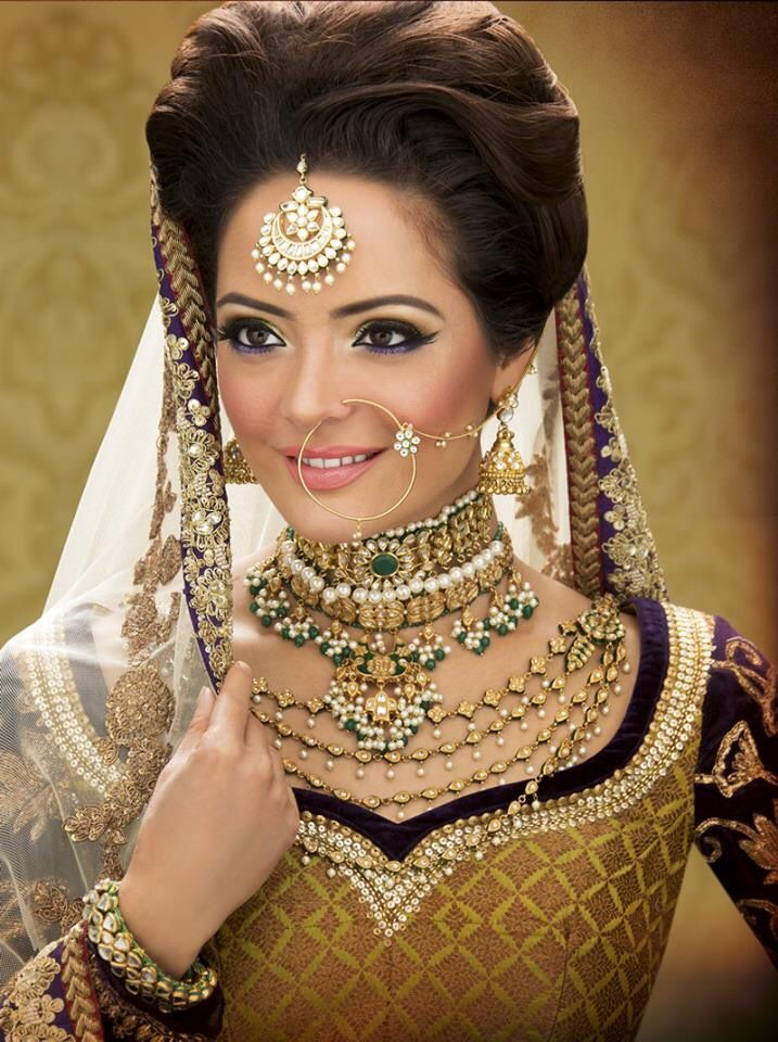 indian bridal hairstyles 77 - Asian Wedding Upstyles