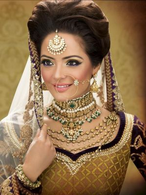 Indian bridal hairstyles 77