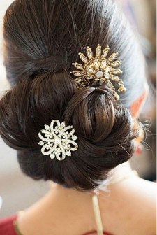 Indian bridal hairstyles 83