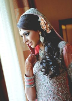 Indian bridal hairstyles 84